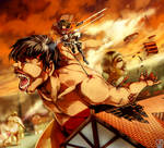 Shingeki no Kyojin : Fight back