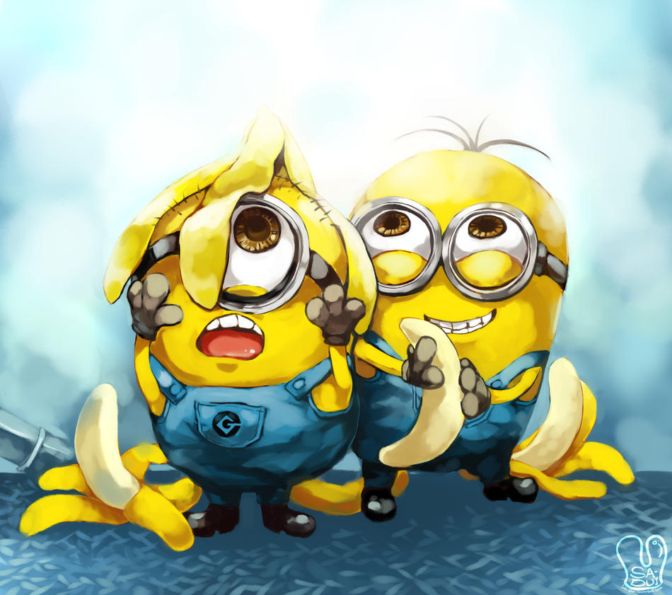 Cute Minions From Despicable Me