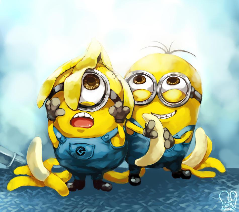 Despicable Me Minions Saying Papoy Despicable me  Minions by Sa-