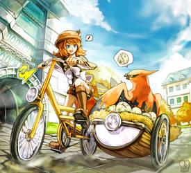 Pokemon : Breeder routine by Sa-Dui