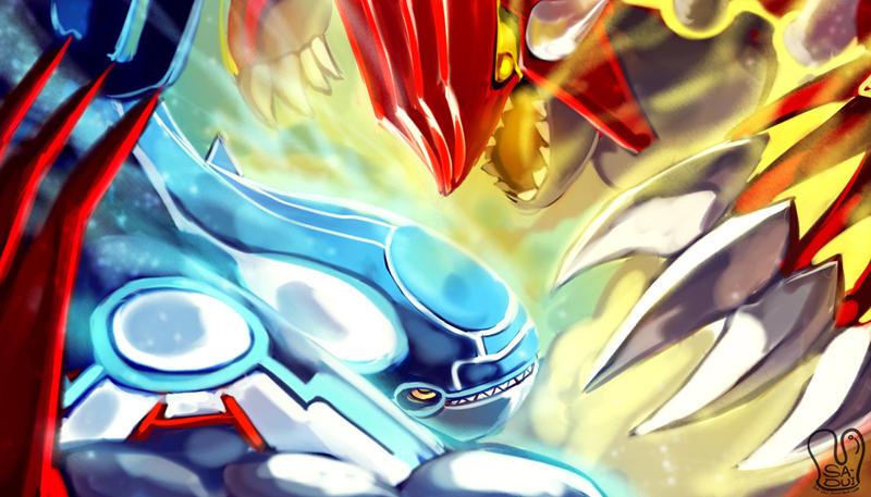 Pokemon : Omega Ruby Alpha Sapphire by Sa-Dui