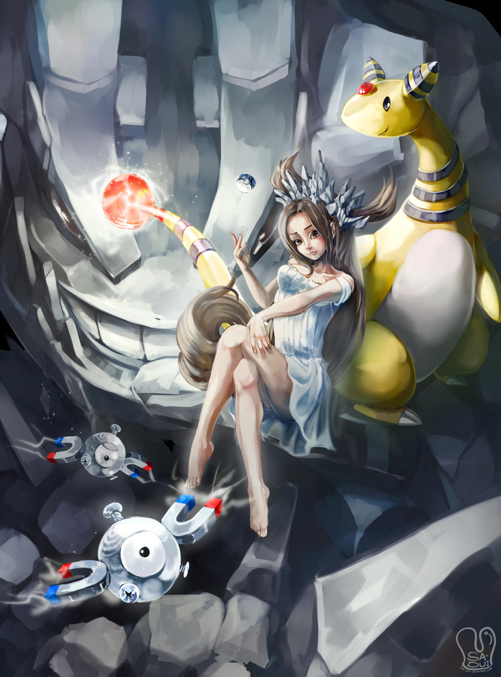 Uncategorized Steel Pokemon pokemon queen of steel by sa dui on deviantart dui