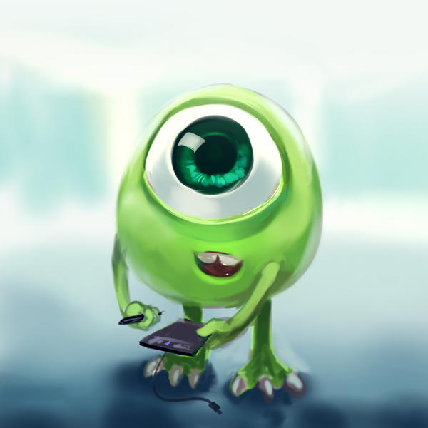 Monster university mike by sa dui on deviantart monster university mike by sa dui voltagebd Images