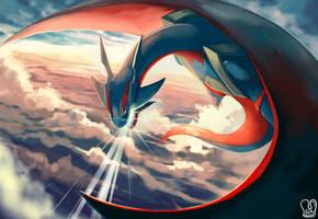 Pokemon : Mega Salamence by Sa-Dui