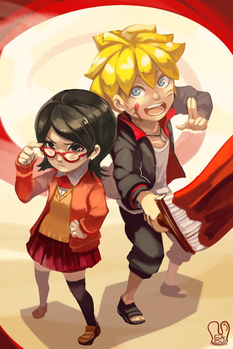 Naruto : Bolt and Sarada