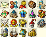 Nirvaniverse : Game Icon set