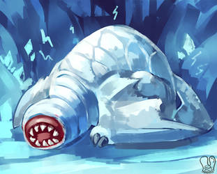 Monster Hunter 4U : Khezu by Sa-Dui