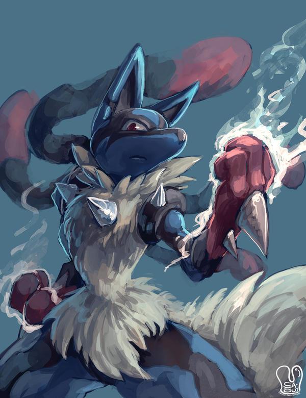 Pokemon Mega Lucario 519679572