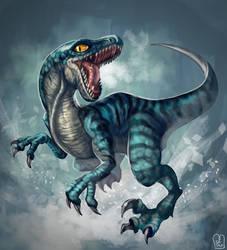 Jurassic World : BLUE