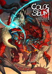 Artbook cover : Colosseum by Sa-Dui