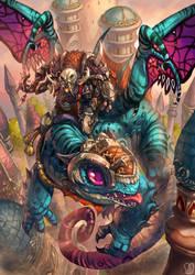 Commission : fan art World of Warcraft by Sa-Dui