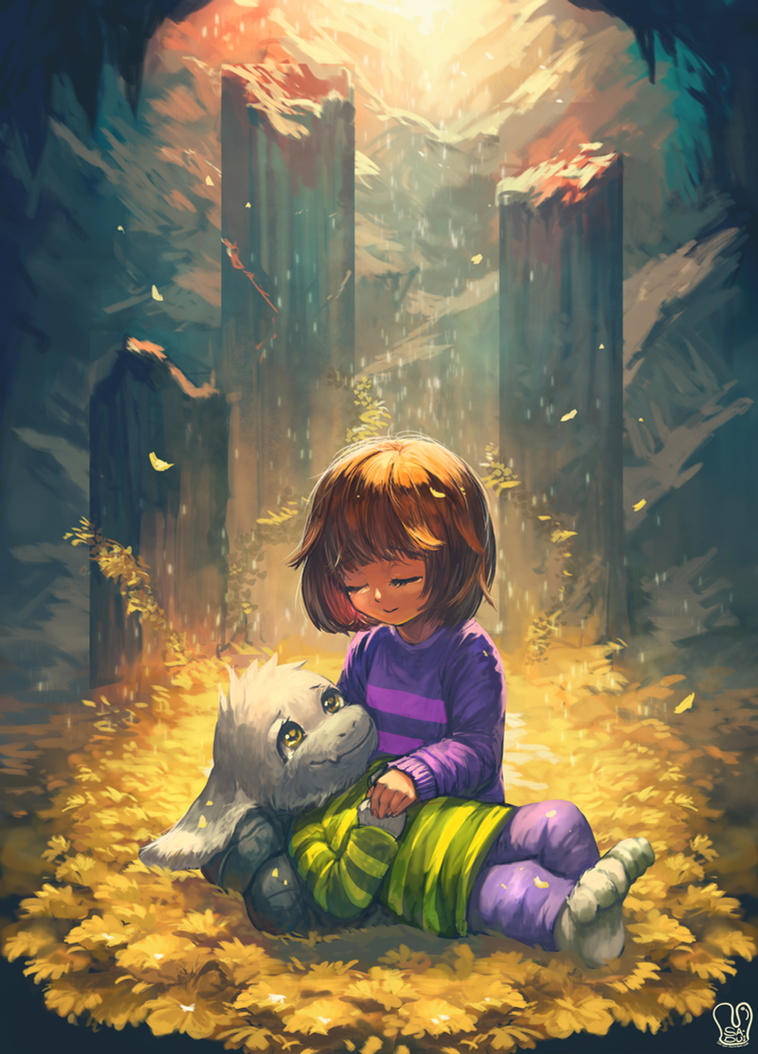 Secret Undertale : for Sanakii by Sa-Dui
