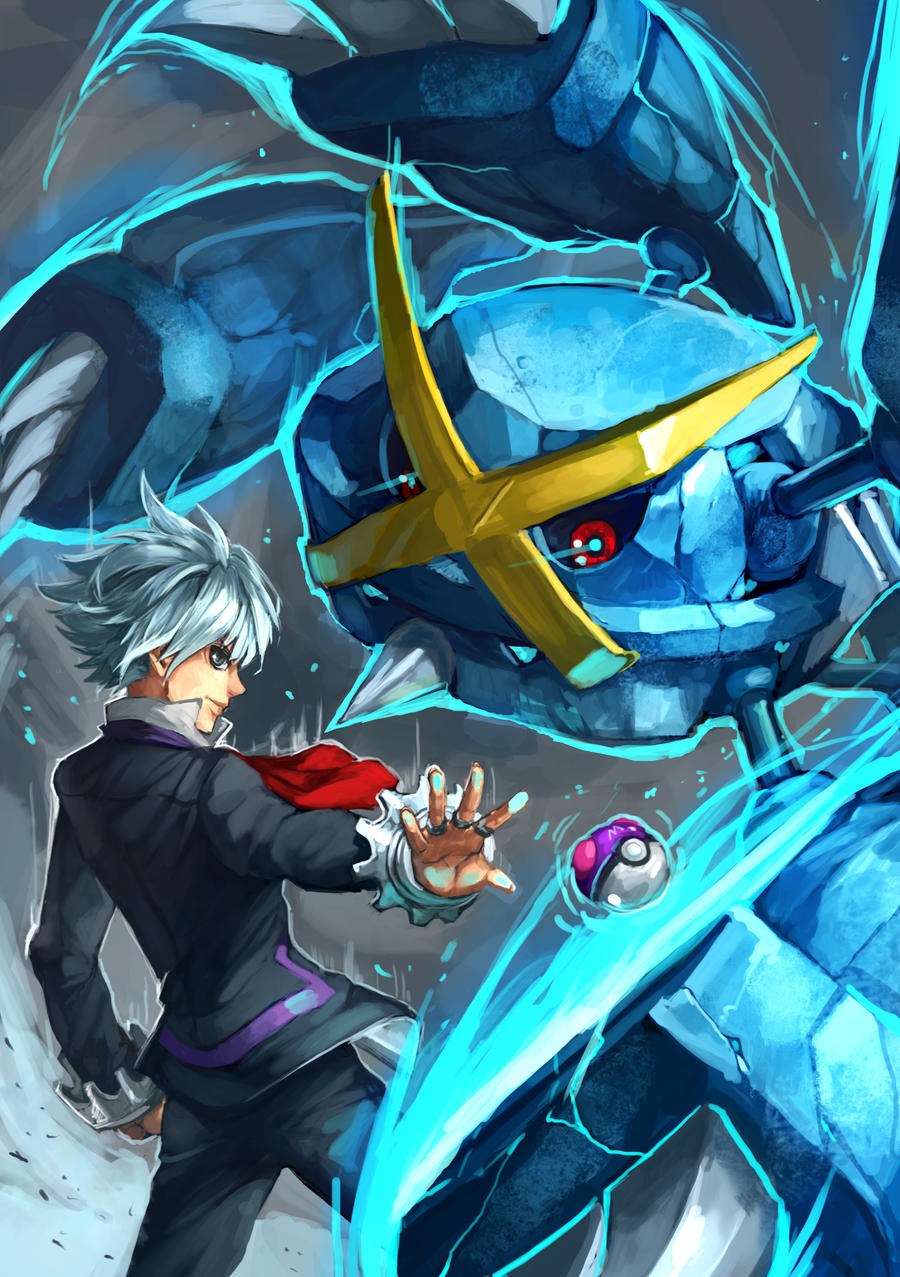 """Steven and Mega Metagross"" by Sa-Dui (DeviantArt) : pokemon"