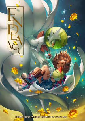 Pokemon x UNDERTALE Illust Book : ENDEAVOR by Sa-Dui
