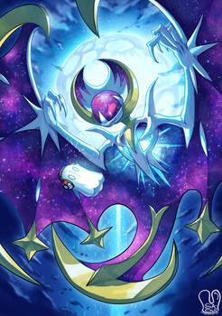 Pokemon x UNDERTALE : Lunaala x Napstablook