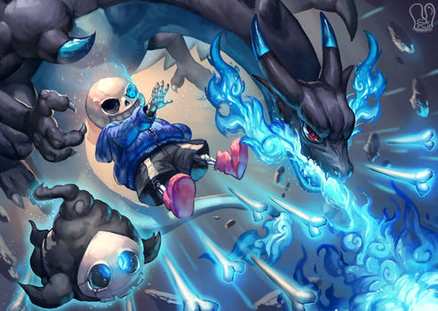 Pokemon x UNDERTALE : Blue Death
