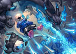 Pokemon x UNDERTALE : Blue Death