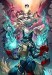 Pokemon x UNDERTALE : Lucario x Asriel