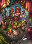 Commandeer : Lizard and Merchant