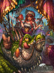 Commandeer : Lizard and Merchant by Sa-Dui