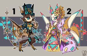 [Adoptable] Auction 01-02 [CLOSED]