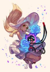 Pokemon : Lillie and Nebby
