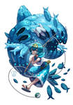 Pokemon : Lana and Wishiwashi