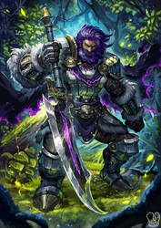 Commission : Epock Clawbreaker by Sa-Dui