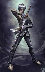 Commission : Yu Narukami, Phantom Thief. by Sa-Dui