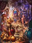Commission : VibrantSnow by Sa-Dui
