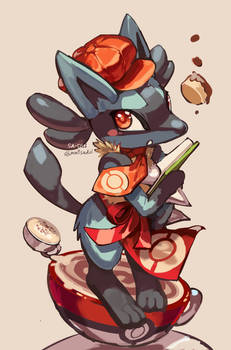 Pokemon cafe mix : Lucario