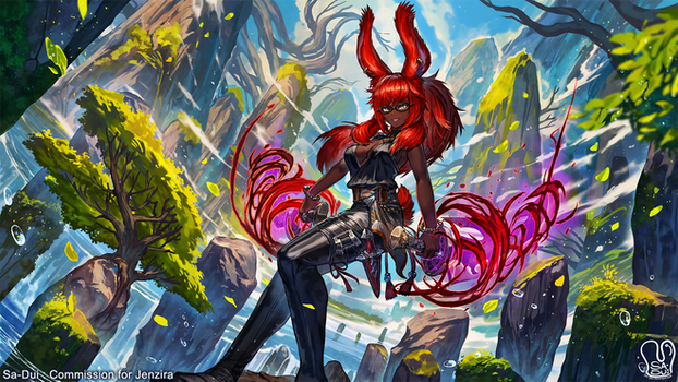 Commission : Jenzira