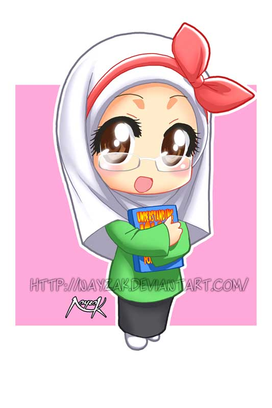 Chibi Miss Noor by Nayzak