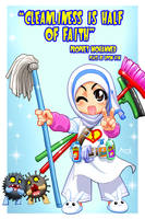 Cleanliness is from Faith by Nayzak