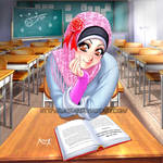 Beautiful in Hijab