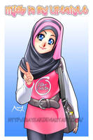 Hijab is my lifestyle by Nayzak