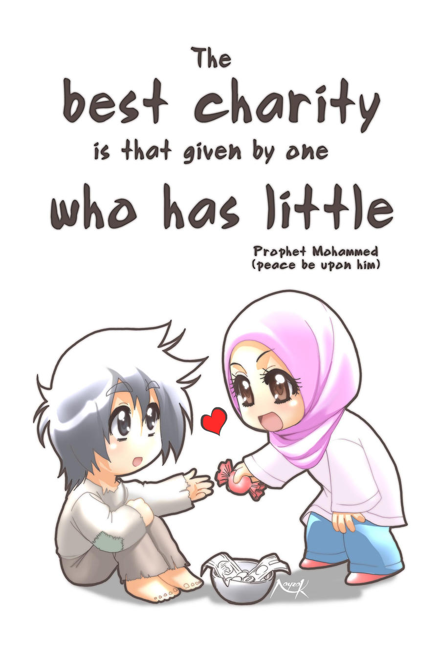 The Best Charity... by Nayzak