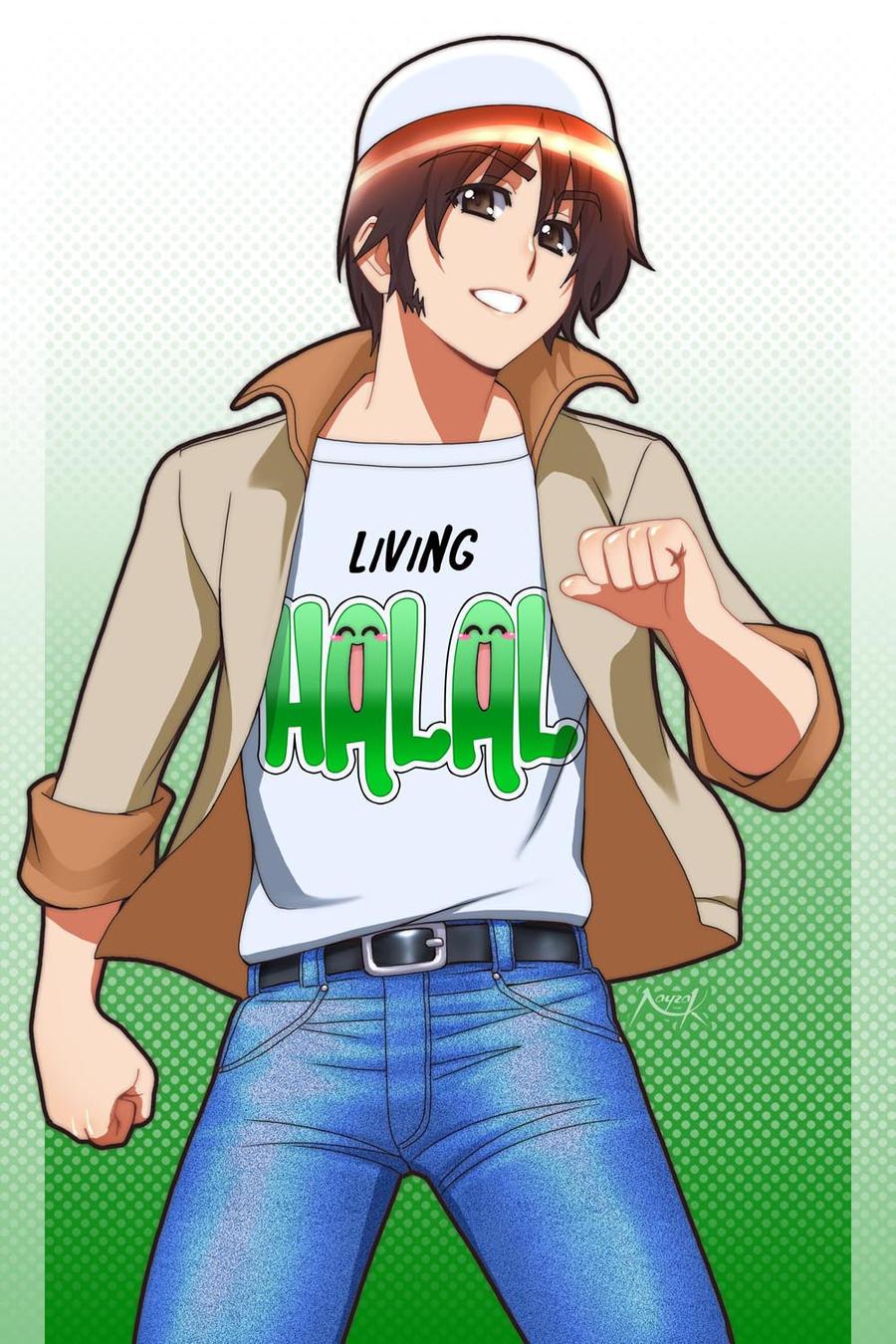 Anime Muslim Lelaki Living Halal By Nayzak On Deviantart