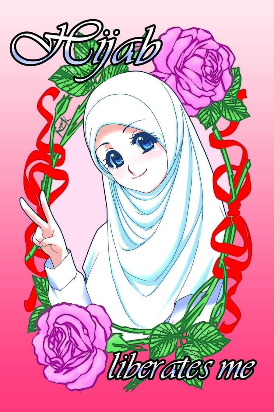 Hijab, A Liberating Choice by Nayzak
