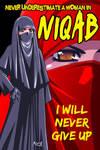 A Woman in Niqab