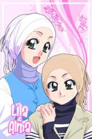 Lila and Alma by Nayzak