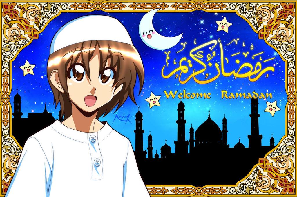 صور انمي رمضان welcome_ramadan_by_n
