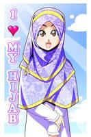 I love my Hijab by Nayzak