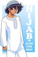 Hijab for men by Nayzak