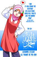 Say Alhamdulillah by Nayzak
