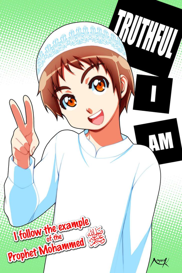 Anime Islam Pria
