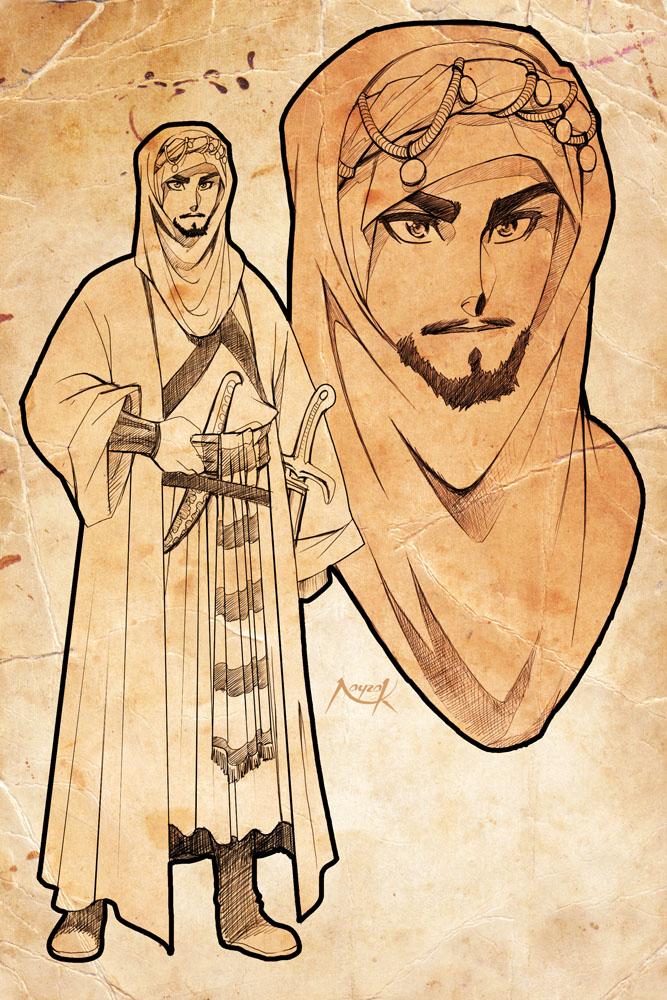 Aladino e la lampada meravigliosa An_ancient_arab____by_nayzak-d4ib13w