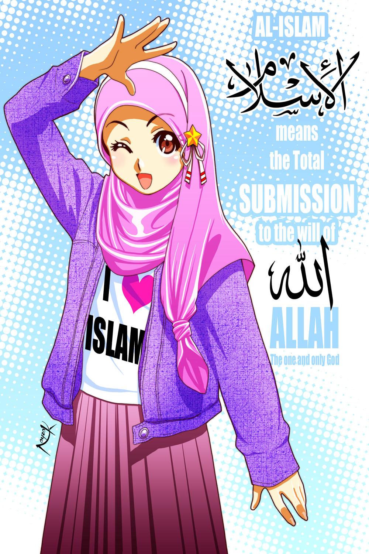 Islam Means By Nayzak On Deviantart