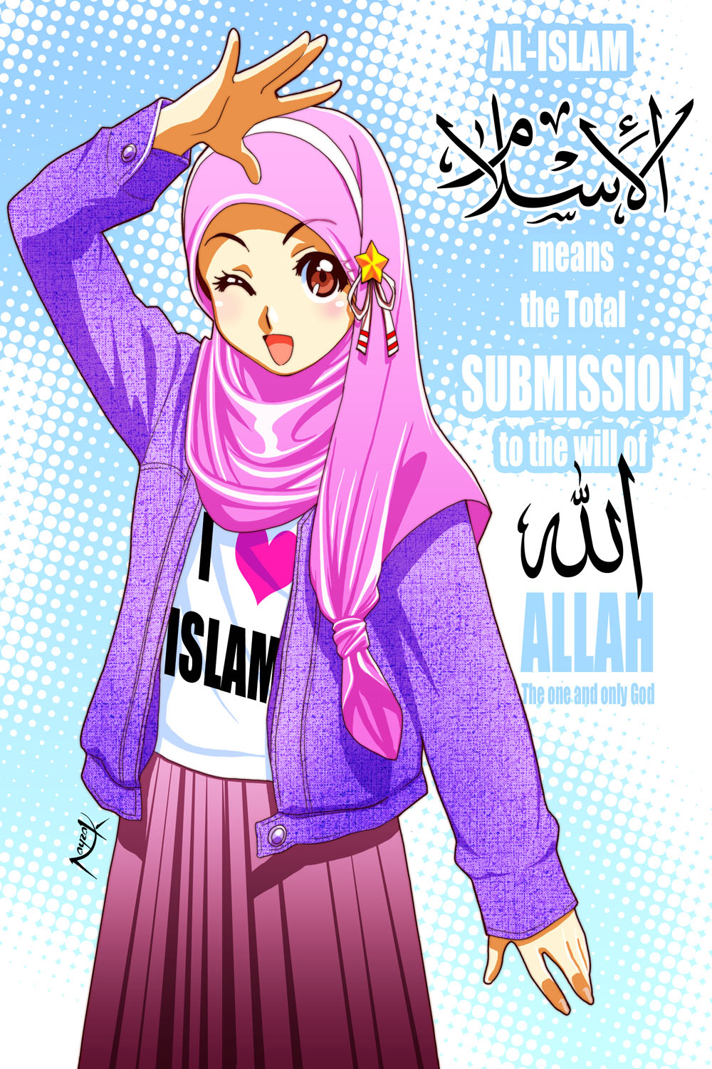 Islam means...