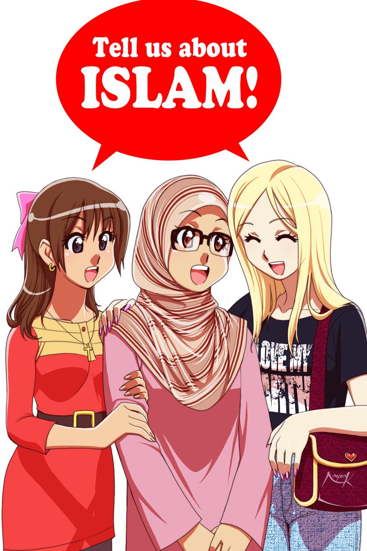 Anime Muslim Wallpaper